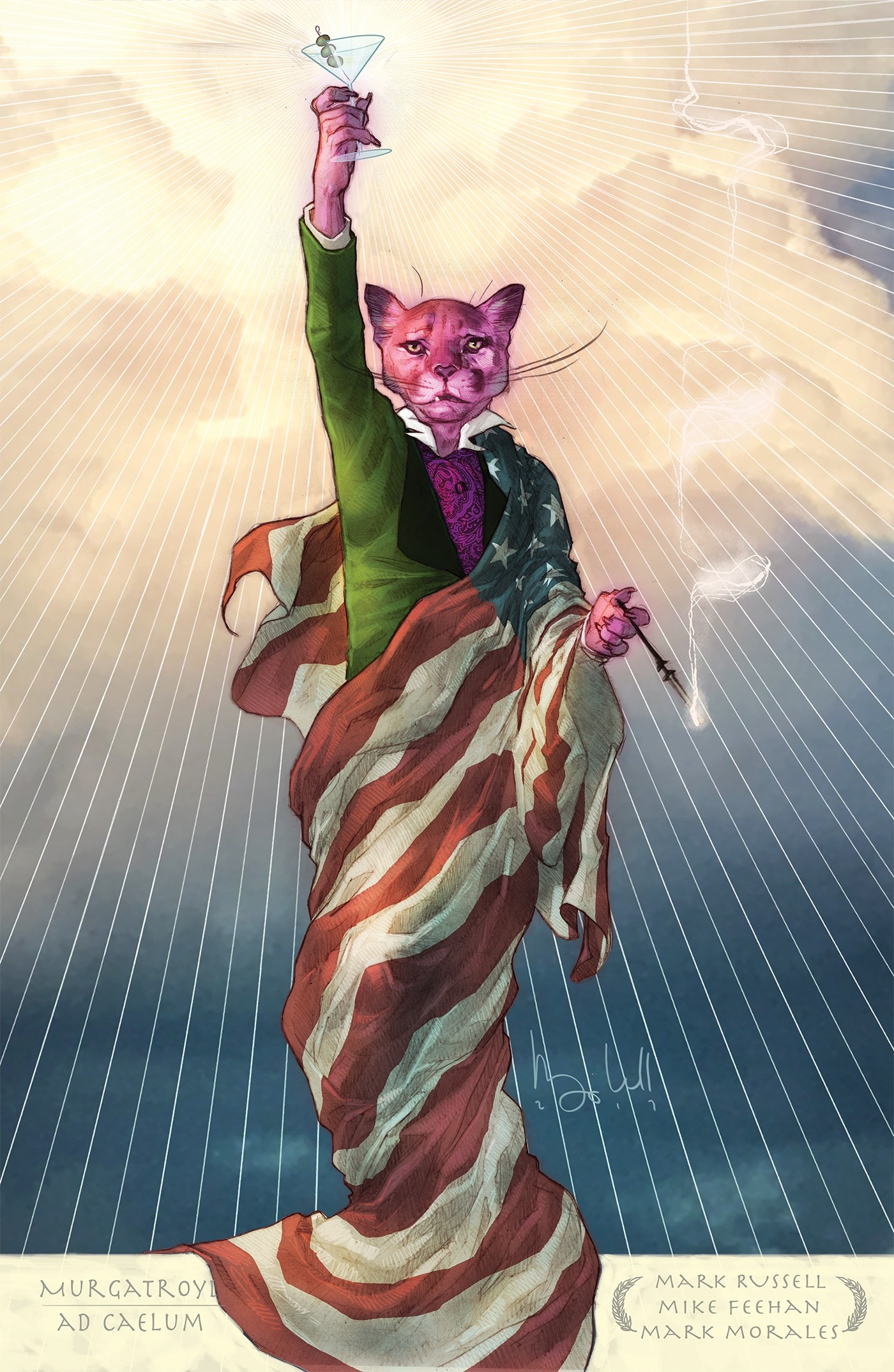 Exit Stage Left: The Snagglepuss Chronicles by Mark Russell, ISBN: 9781401275211