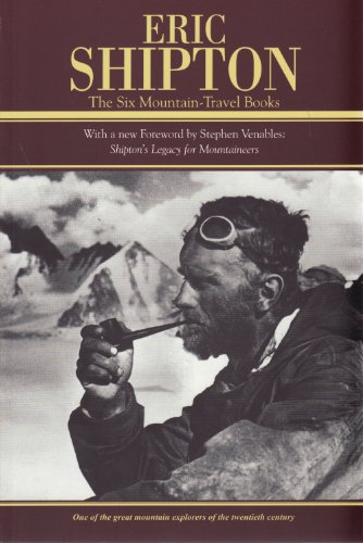 Eric Shipton the Six Mountain-travel Books