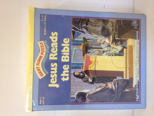 Floor Puzzles Jesus Reads the Bible by Broadman & Holman Publishers, ISBN: 9780805409024