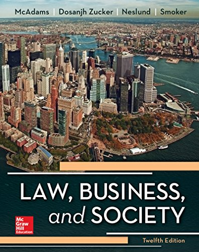 Law, Business and SocietyIrwin Business Law