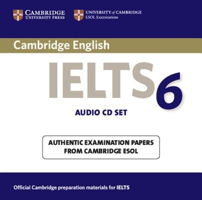 Cambridge IELTS 6 Audio CDs: No. 6