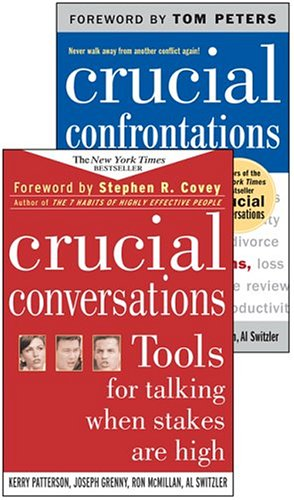 Crucial Confrontations and Crucial Conversations Textbook Pkg by Patterson, ISBN: 9780071455404