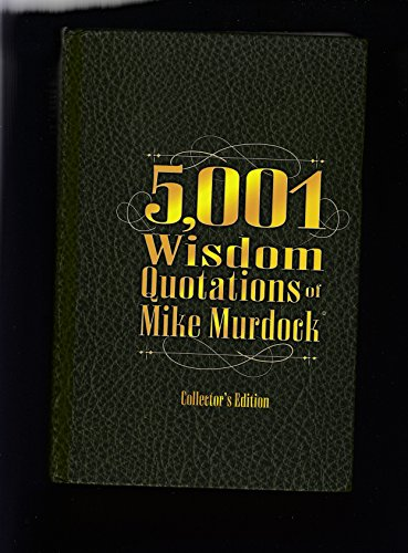 5,001 Wisdom Quotations of Mike Murdock
