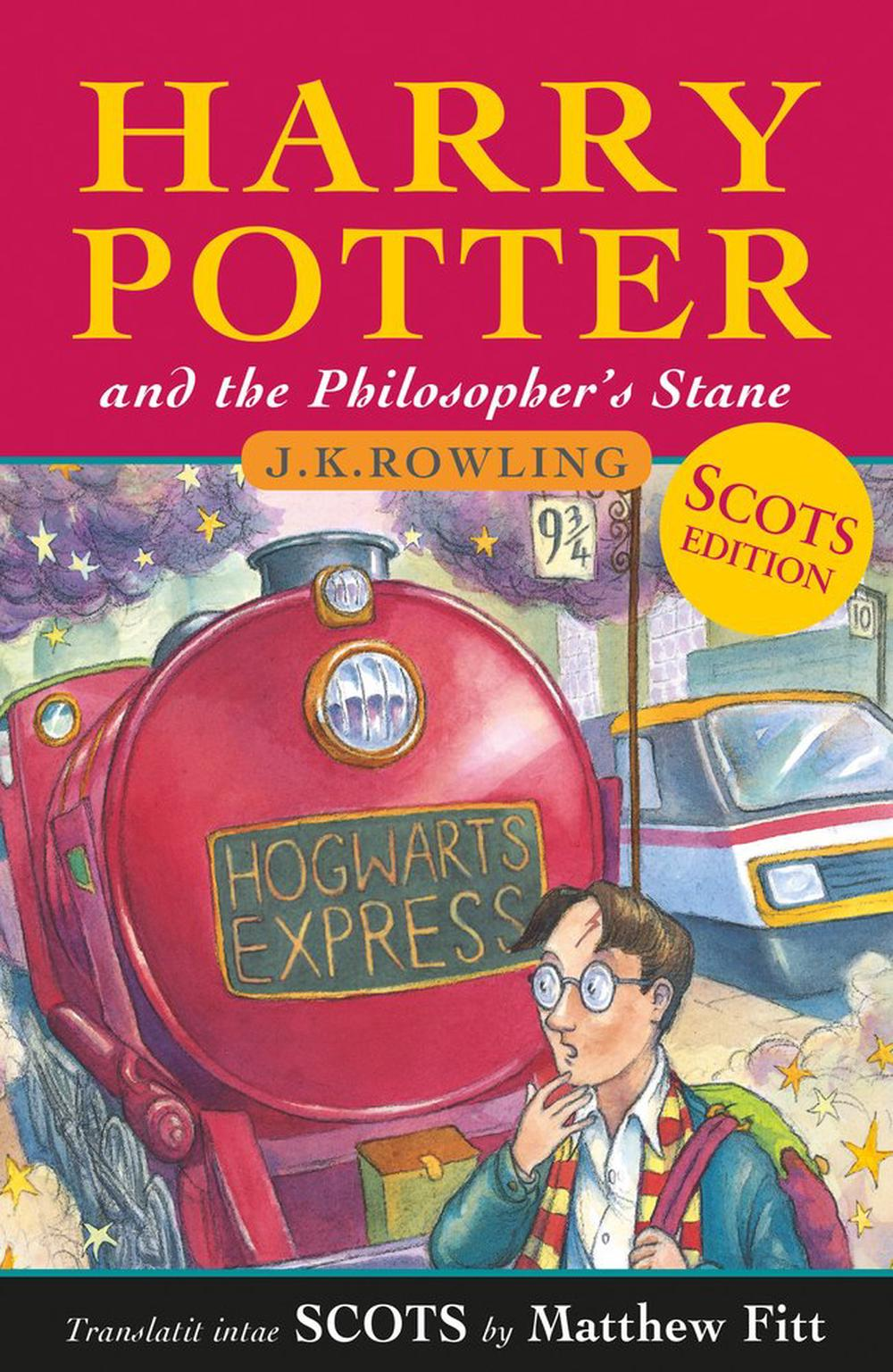 Harry Potter and the Philosopher's Stane: Harry Potter and the Philosopher's Stone in Scots (Scots Language Edition)