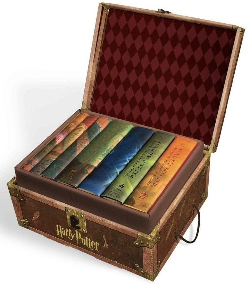 Harry Potter Hardcover Boxed Set: Books #1-7 by J K Rowling, ISBN: 9780545044257