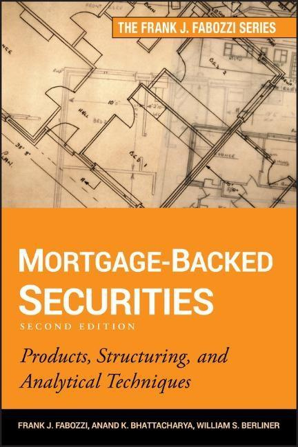Cover Art for Mortgage-Backed Securities, ISBN: 9781118004692