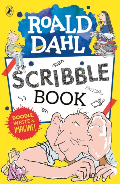 Roald Dahl Scribble Book by Puffin, ISBN: 9780141368245