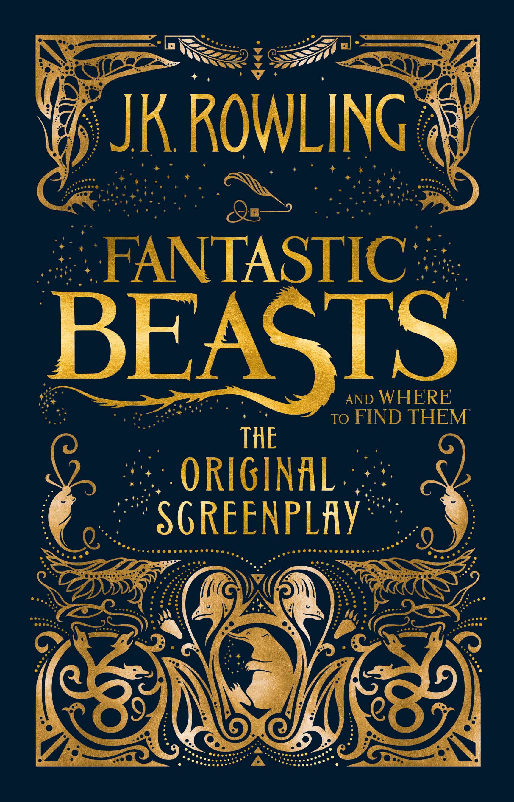 Fantastic Beasts and Where to Find Them: The Original Screenplay by J.K. Rowling, ISBN: 9781408708989