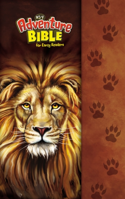 NIrV Adventure Bible for Early Readers, Hardcover, Full Color Interior, LionAdventure Bible