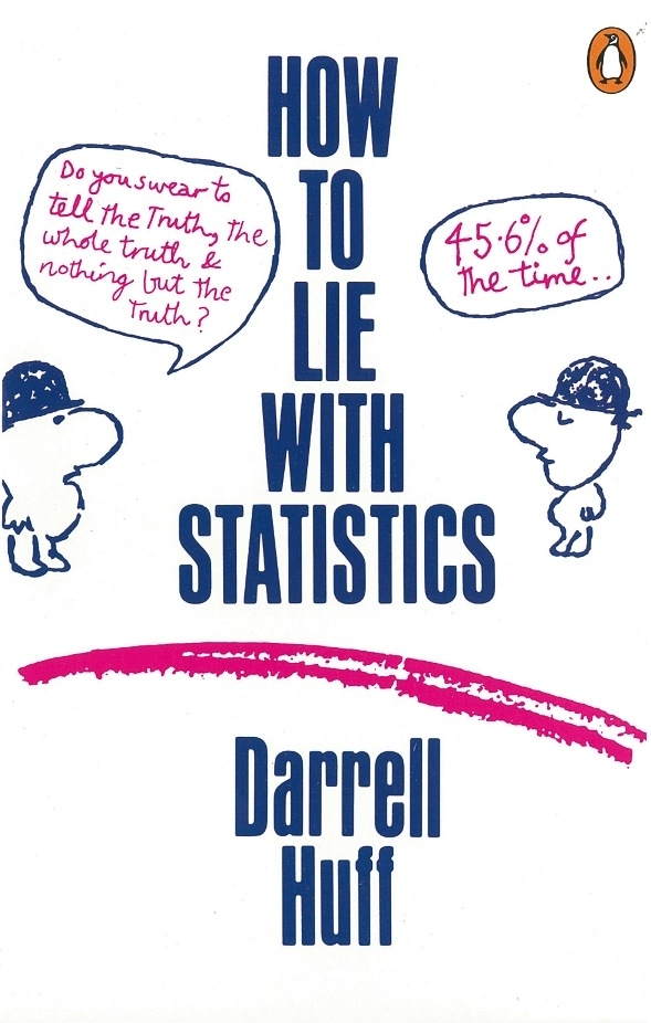 how to lie with statistics Are three kinds of lies:lies, damned lies and statistics' however it seems thatdisraelinever actually said this the phrase was used in 1895 in an essay in the national.