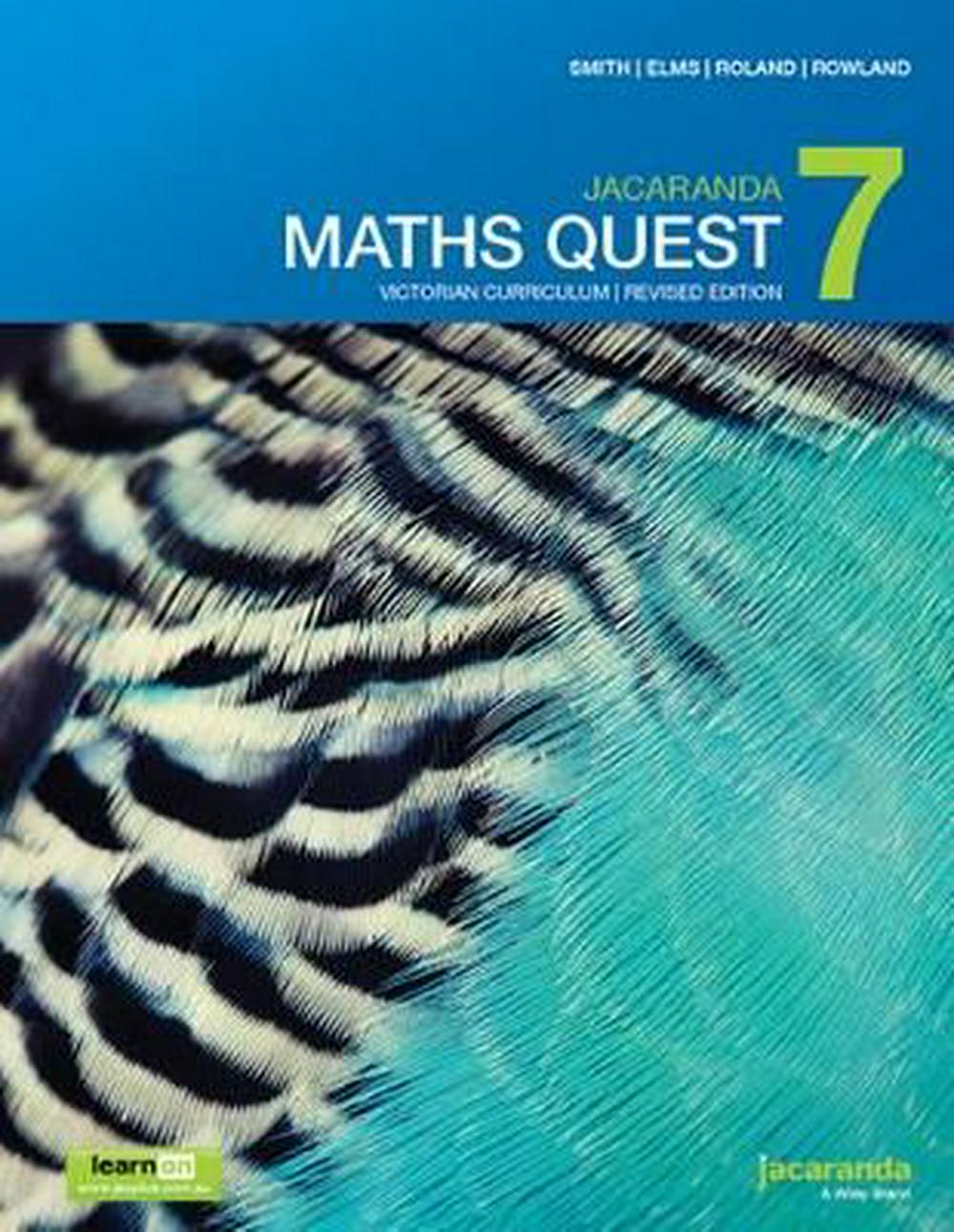 Jacaranda Maths Quest 7 Victorian Curriculum 1E (Revised) LearnON & Print by Catherine Smith,Lyn Elms,Lee Roland,Robert Rowland, ISBN: 9780730348535
