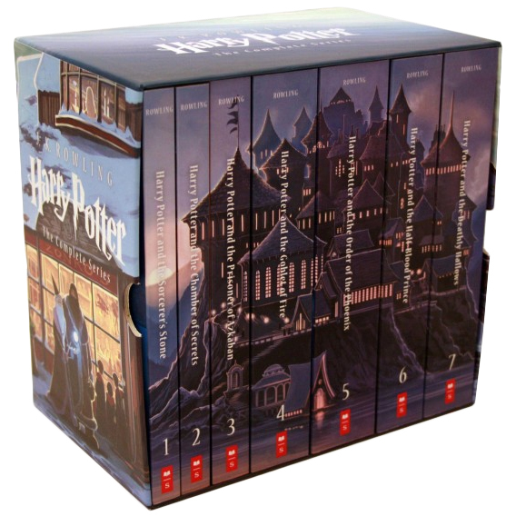 Special Edition Harry Potter Paperback Box Set by Inc. Scholastic, ISBN: 9780545596275