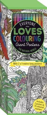 Everyone Loves Colouring Giant Posters  Natural Wothe Natural World (UK)