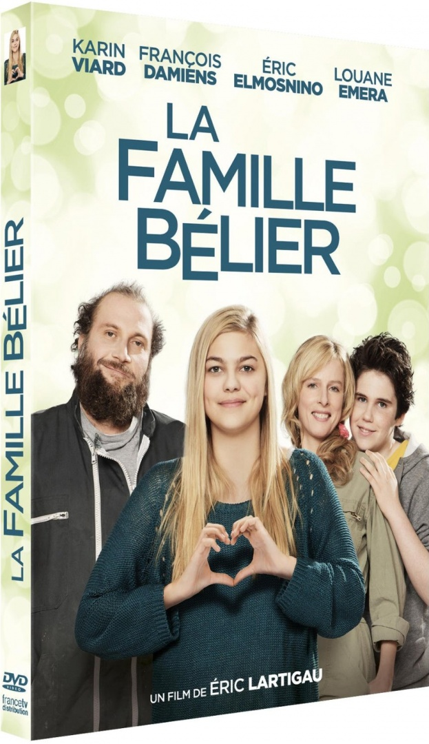 La famille Bélier (Region A Blu-ray) (English & Chinese Subtitled) French Movie a.k.a. The Belier Family