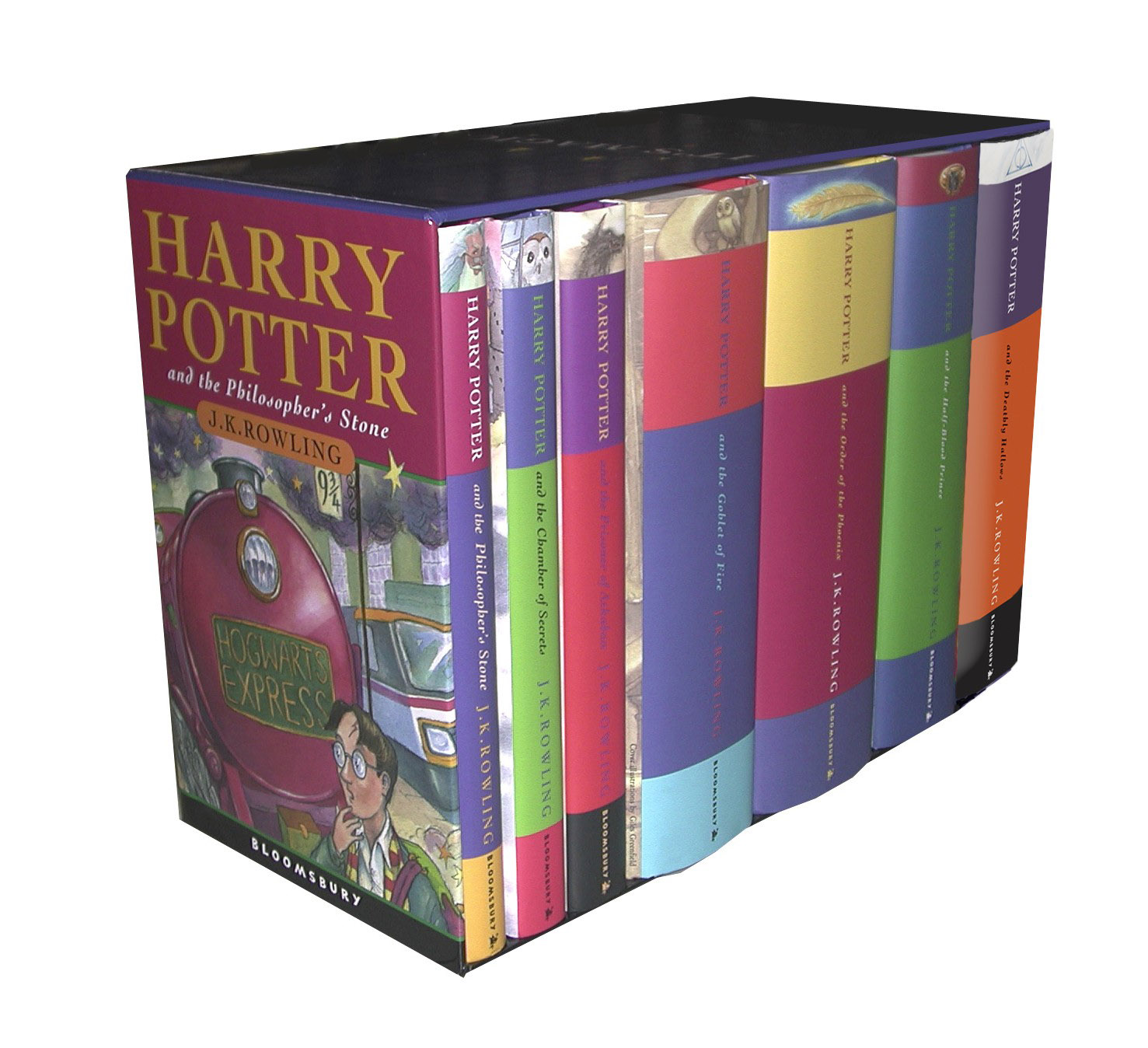 Harry Potter Hardback Boxed Set x 7 by J.K. Rowling, ISBN: 9780747593690