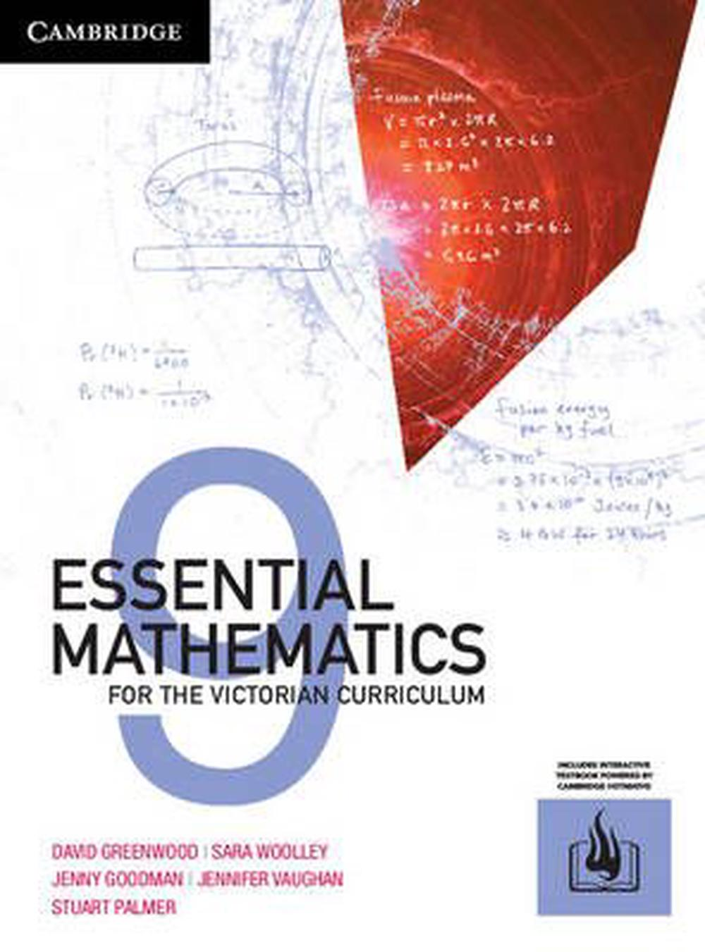 Essential Maths for the Victorian Syllabus Year 9 Print Bundle (Textbook and Hotmaths) by Jennifer Vaughan, Sarah Woolley, Jennifer Goodman, David Greenwood, ISBN: 9781316624210