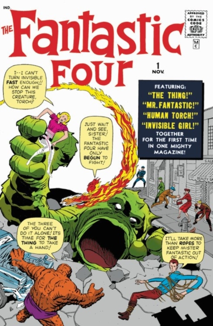 The Fantastic Four Omnibus Vol. 1 by Stan Lee, ISBN: 9781302913274