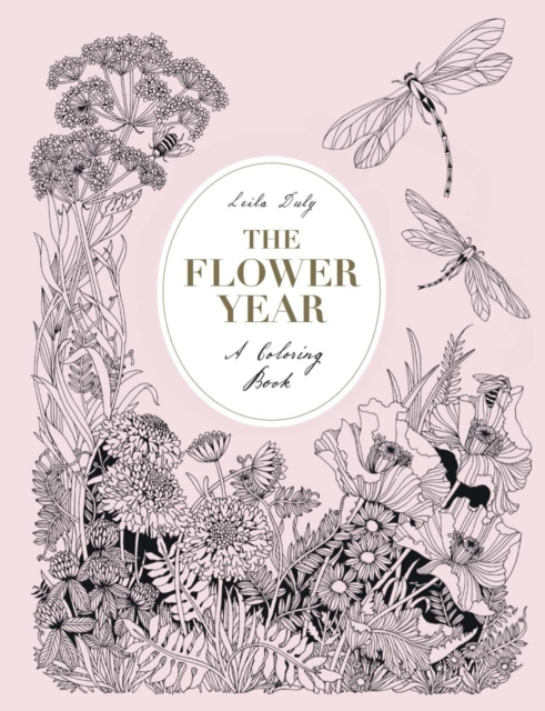 The Flower Year: A Colouring Book