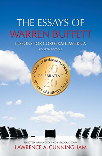 the essays of warren buffett lessons for corporate america review