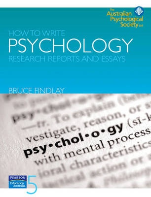 writing research papers psychology