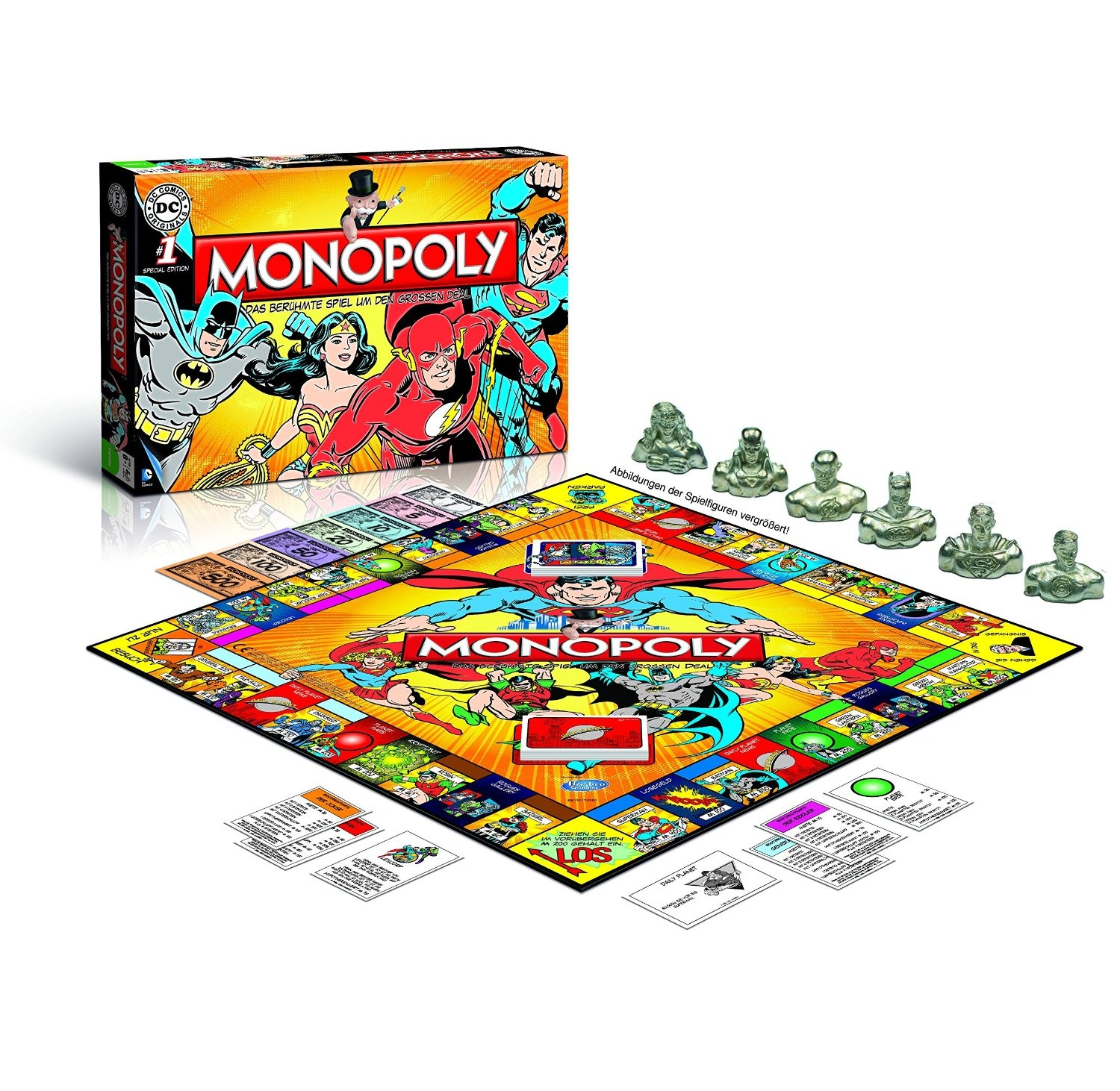 Dc Comics Monopoly by Unknown, ISBN: 5036905022545
