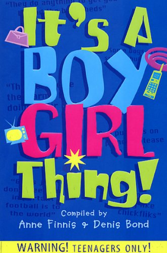 It's A Boy Girl Thing by Anne Finnis, ISBN: 9780099432128