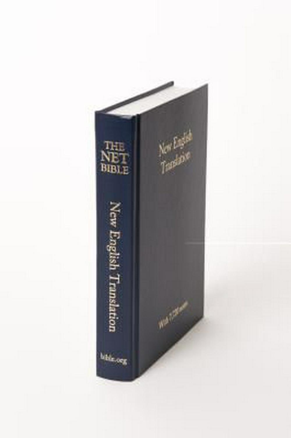 Net Bible - Pew Bible - Blue Hardcover