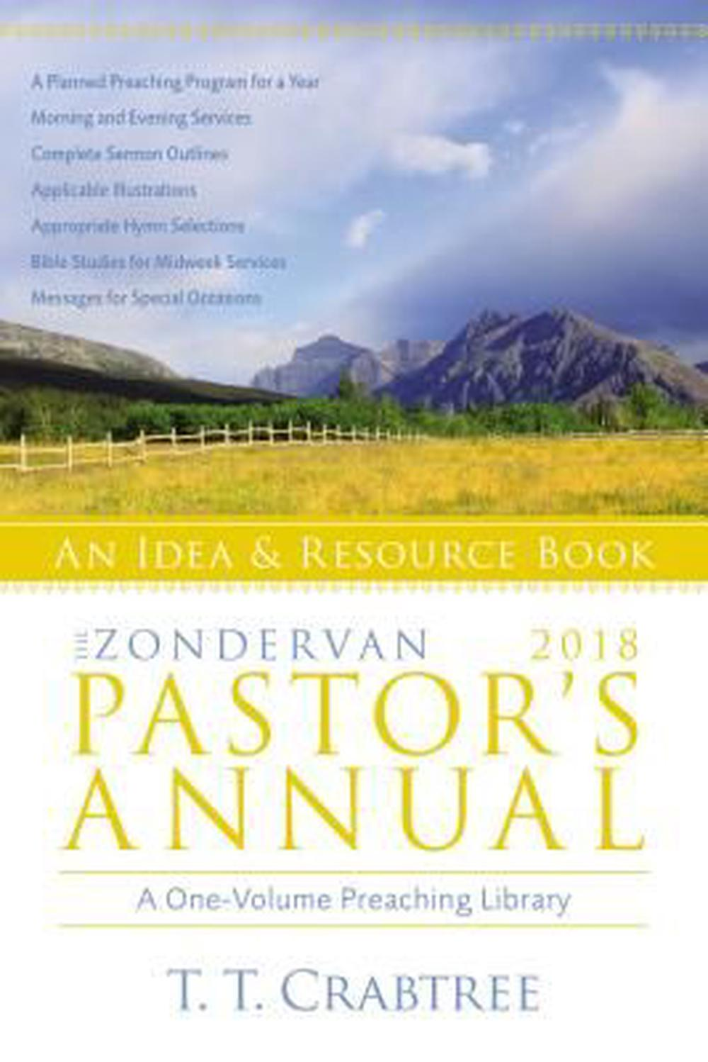 The Zondervan 2018 Pastor's AnnualAn Idea and Resource Book
