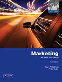 marketing an introduction tenth edition global edition gary armstrong philip kotler Chapter 1 marketing in a changing world: creating customer value and satisfaction principles of marketing eighth edition philip kotler and gary armstrong.