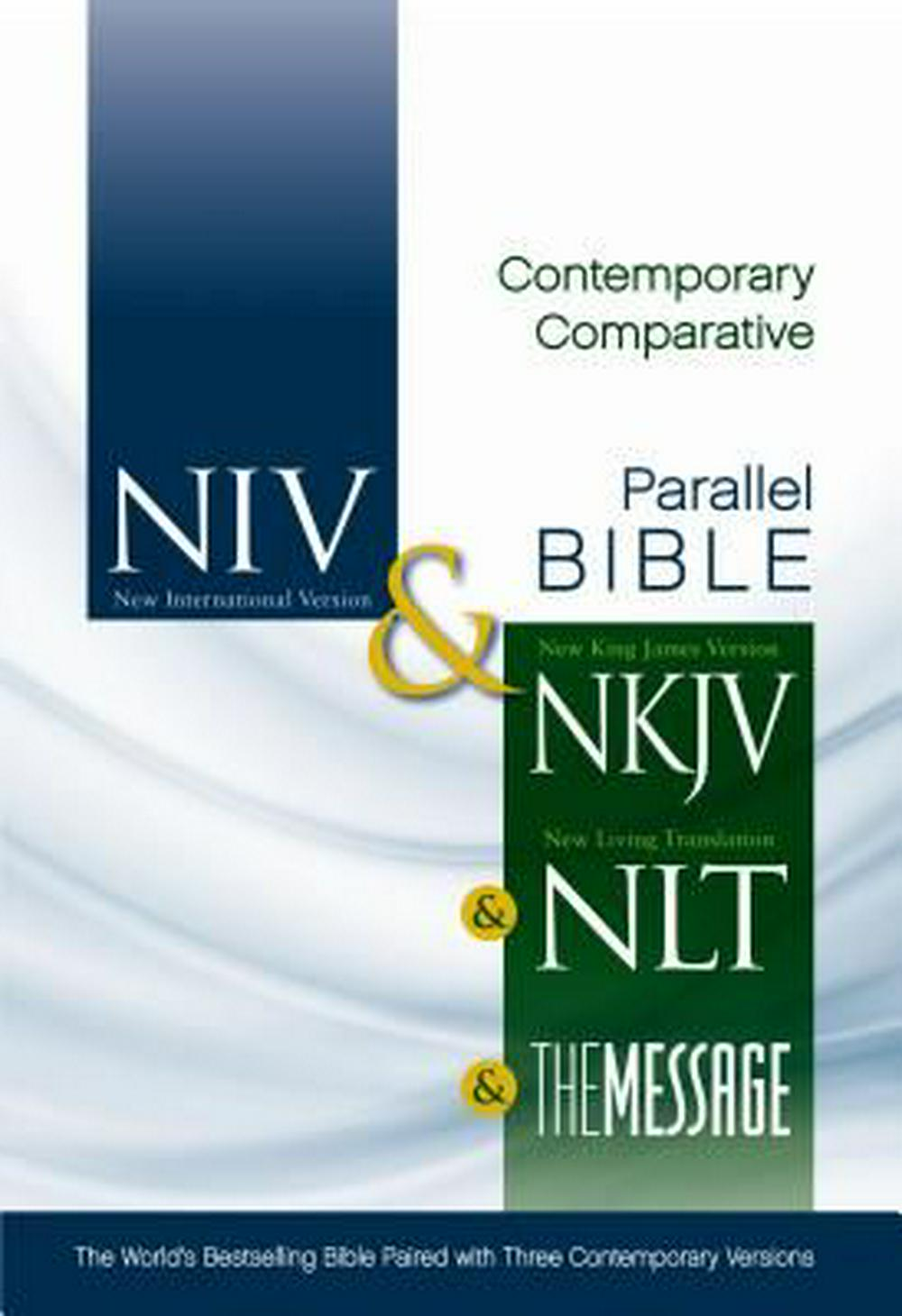 Contemporary Comparative Side-By-Side Bible-PR-NIV/NKJV/NLT/MS