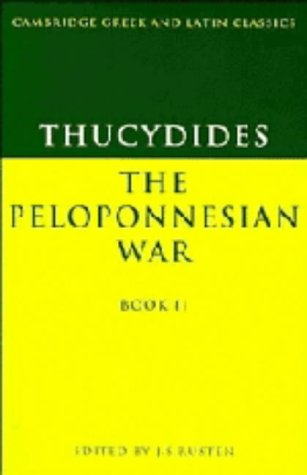 Thucydides: The Peloponnesian War Book II: Bk. 2