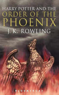 Harry Potter and the Order of the Phoenix A-format adult edition