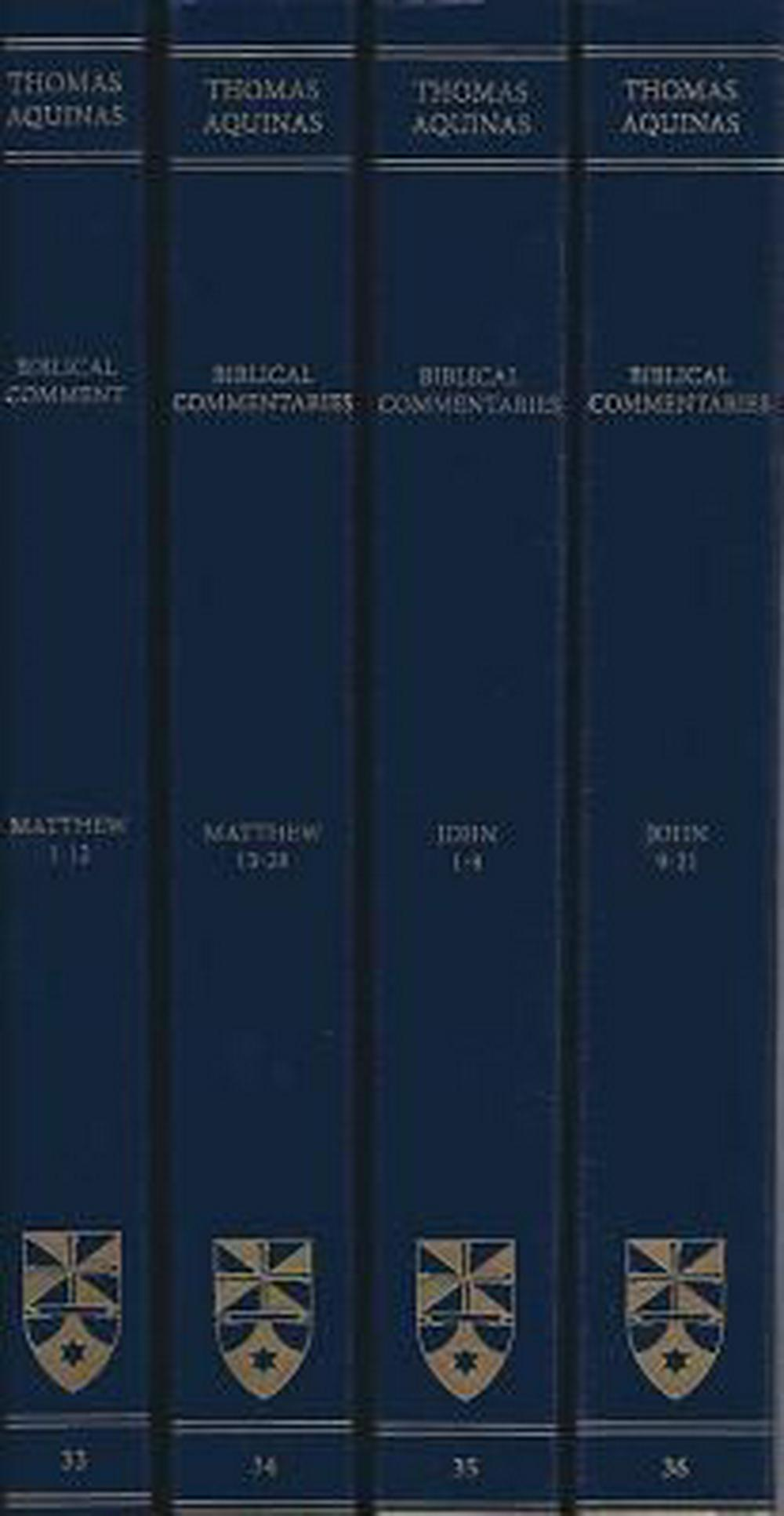 Commentary on the Gospels of Matthew and John (Latin-English Edition)