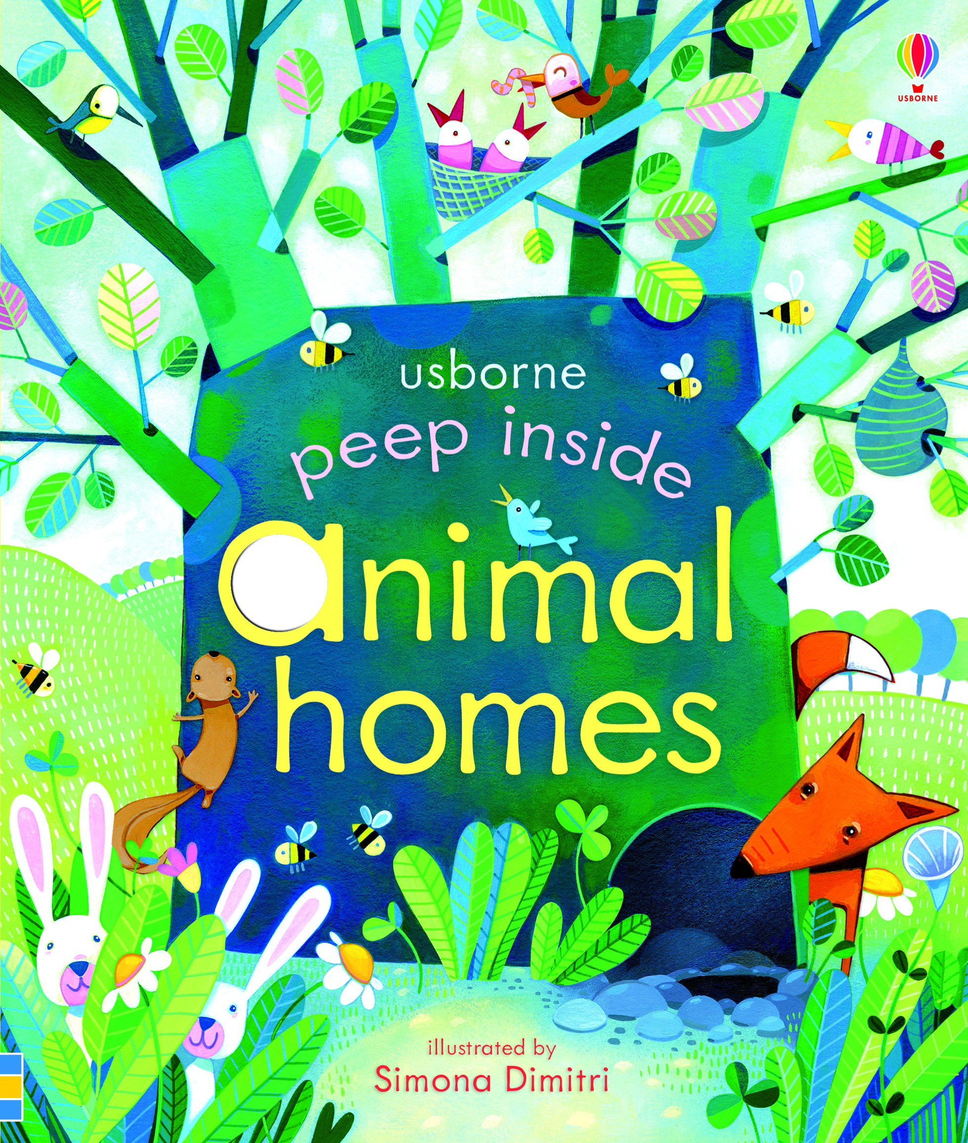 Peep Inside Animal Homes by Anna Milbourne, ISBN: 9781409550181