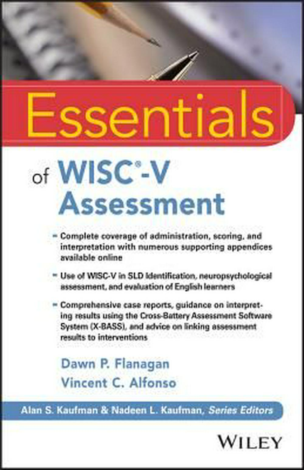 Wisc-V Essentials (Essentials of Psychological Assessment)