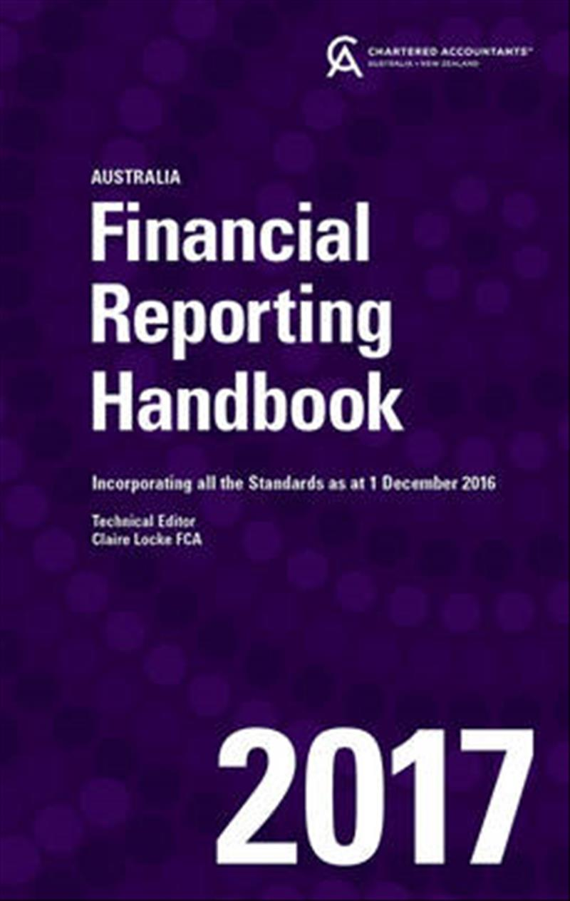 Financial Reporting Handbook 2017 Australia