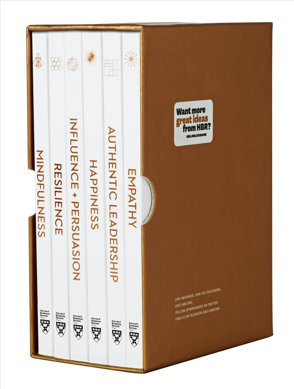 HBR Emotional Intelligence Boxed Set (6 Books (HBR Emotional Intelligence Series)HBR Emotional Intelligence