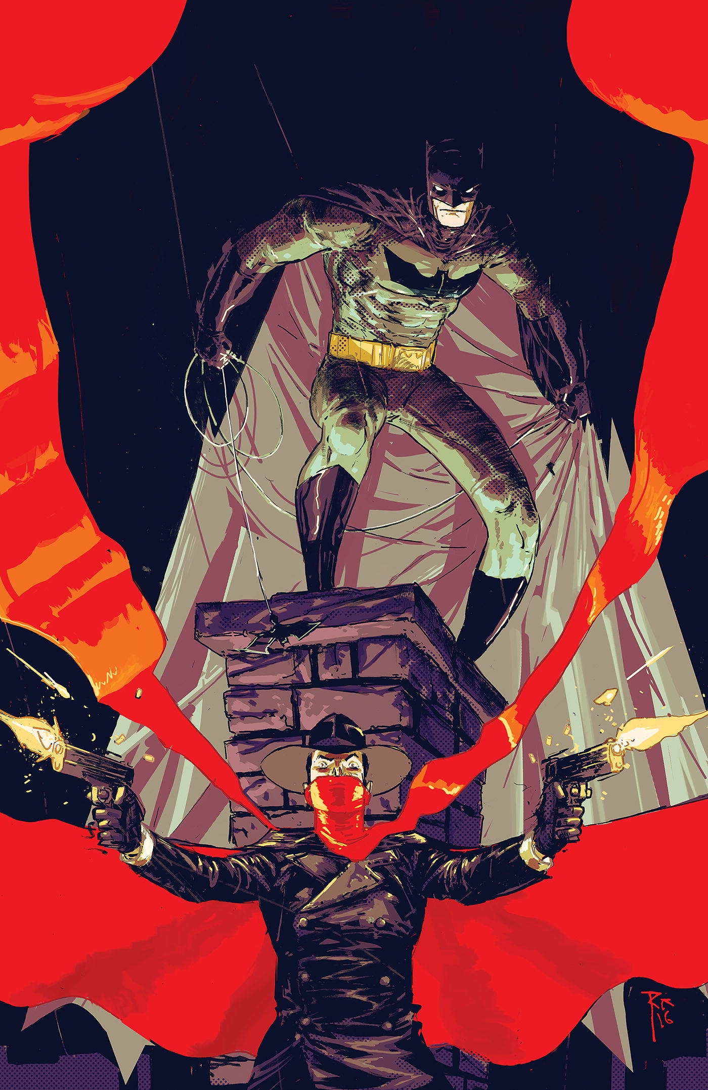 Batman/The Shadow