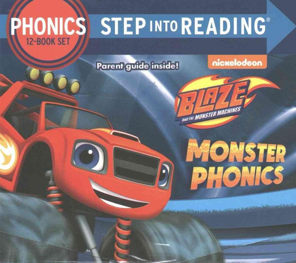 Monster Phonics (Blaze and the Monster Machines)Step Into Reading