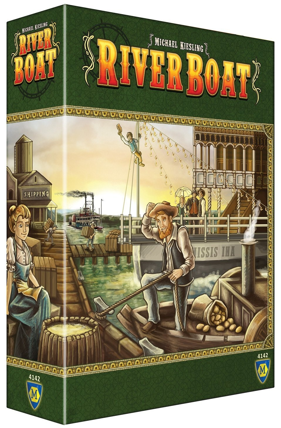 Riverboat Board Game by Mayfair, ISBN: 0029877035267