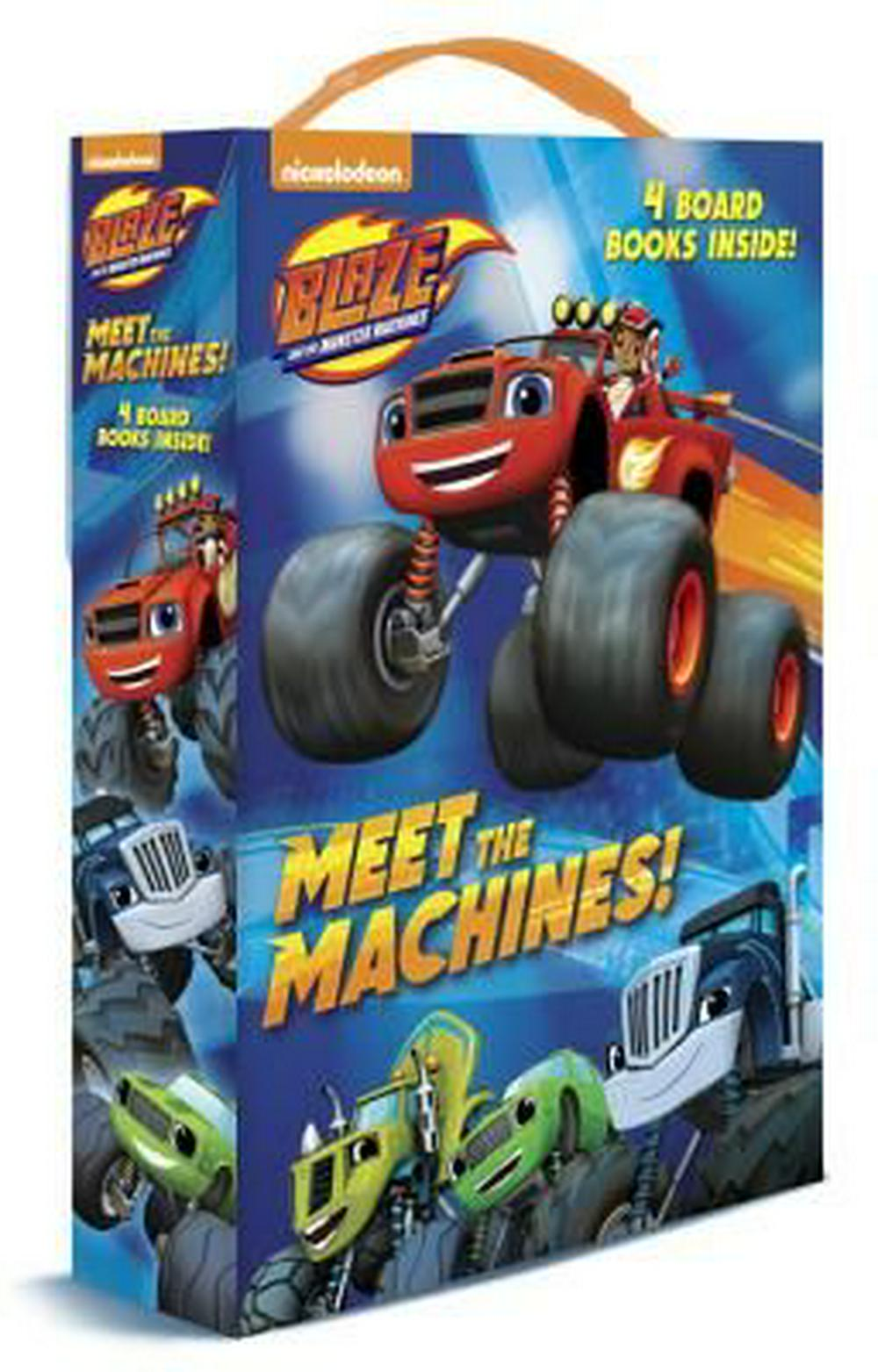Meet the Machines! (Blaze and the Monster Machines: Friendship Box)