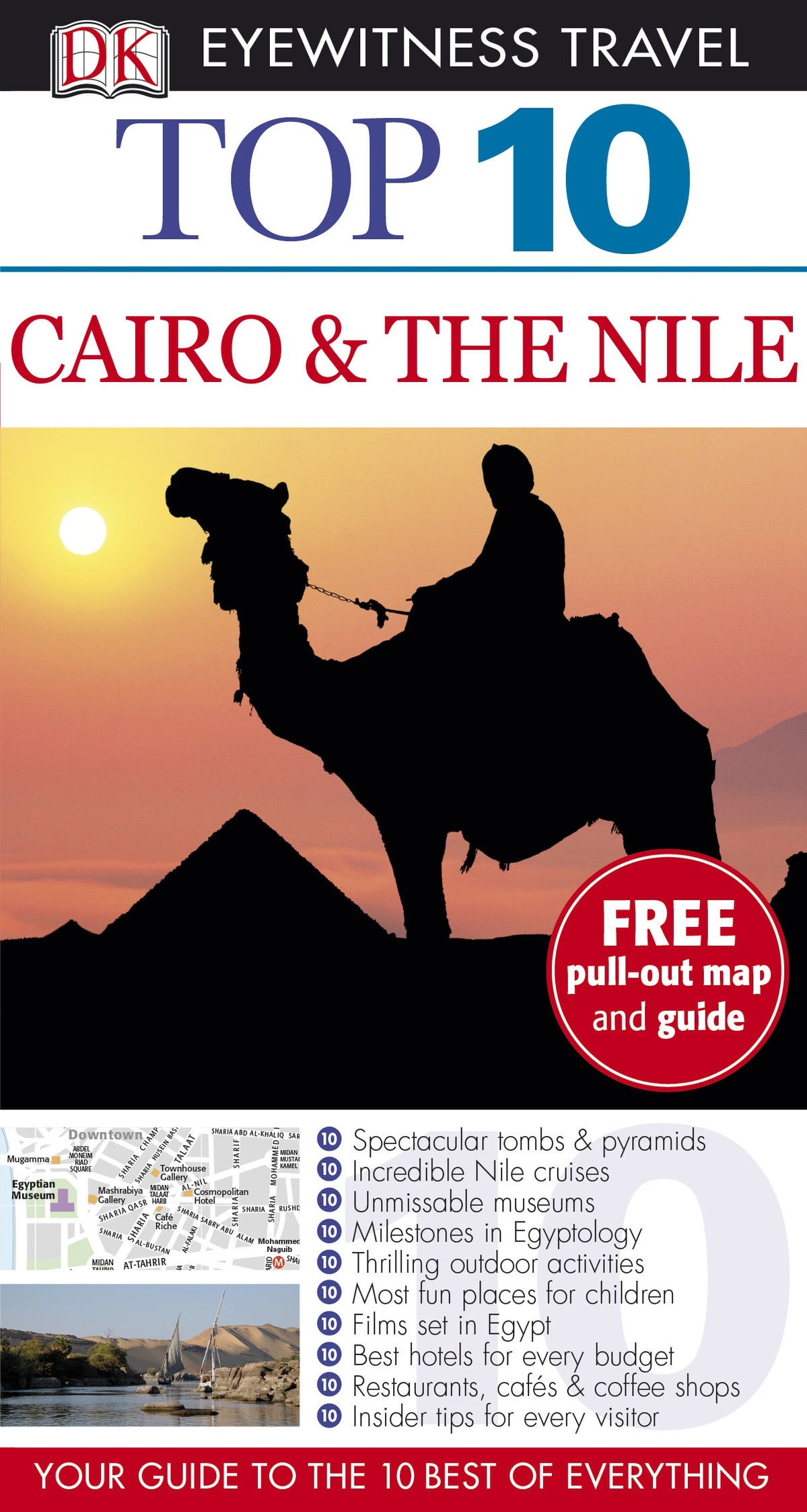 Cairo and The Nile: Top 10 Eyewitness Travel Guide by Dorling Kindersley, ISBN: 9781409373605