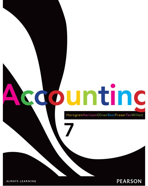 Accounting by Charles T. Horngren, ISBN: 9781442551923