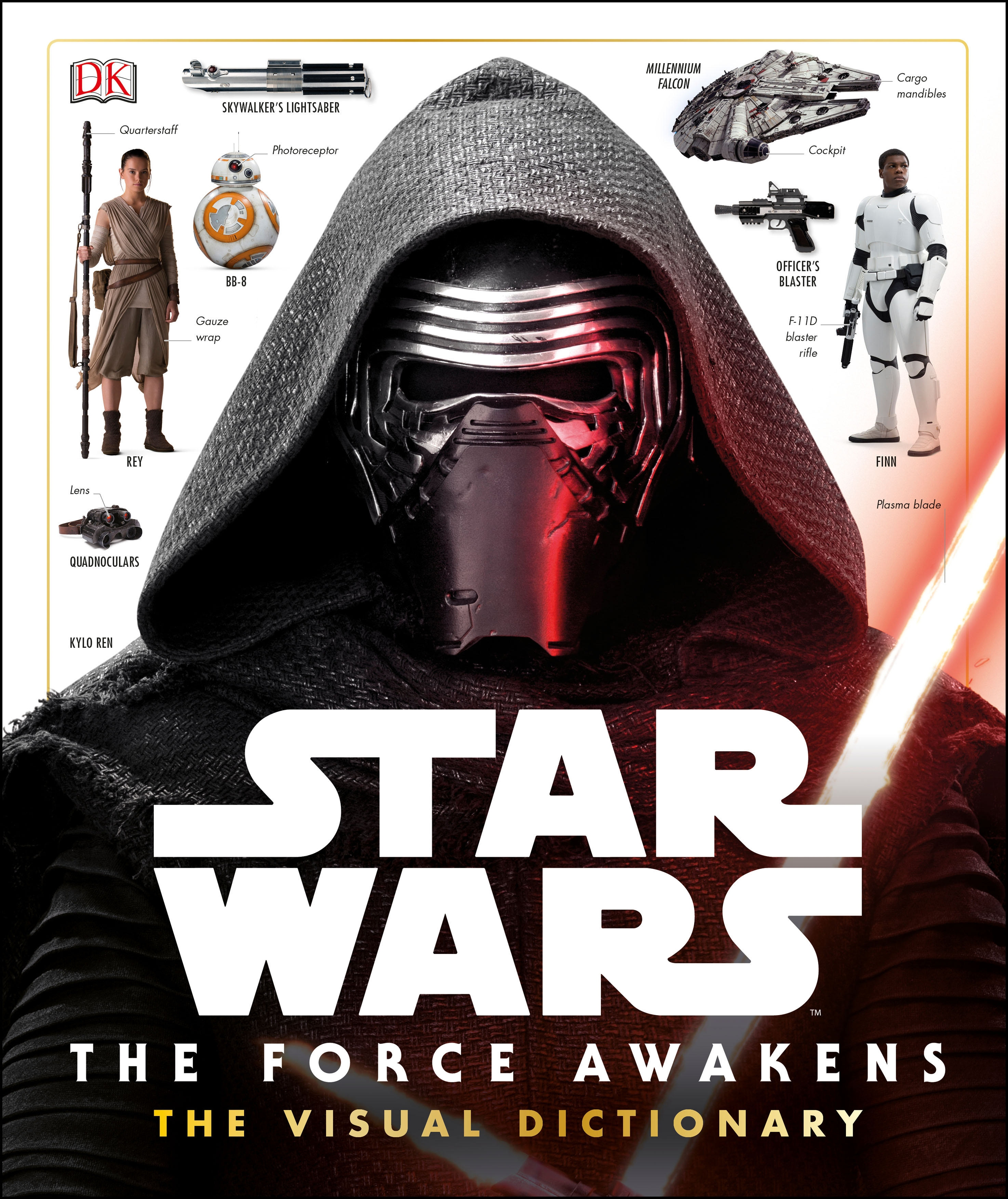 Cover Art for Star Wars: the Force Awakens Visual Dictionary, ISBN: 9780241198919
