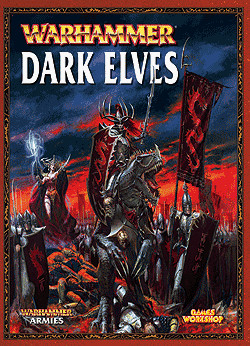 Warhammer Armies Dark Elves by Gavin Thorpe, Jervis Johnson, John Blanche, Games Workshop, ISBN: 9781841548500