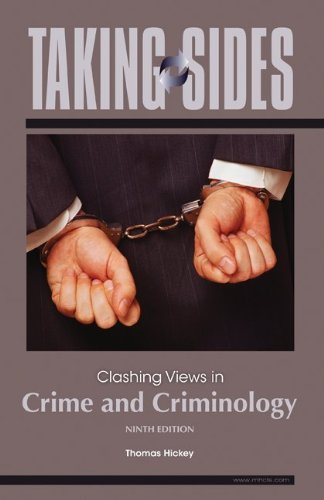 clashing controversial crime criminology essay in issue side taking view