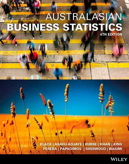 Australasian Business Statistics 4e+Wileyplus Stand-Alone Card