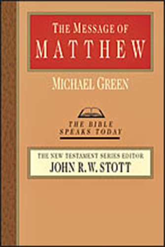 The Bible Speaks Today Series - New Testament Set by John R W Stott, ISBN: 9780830881833