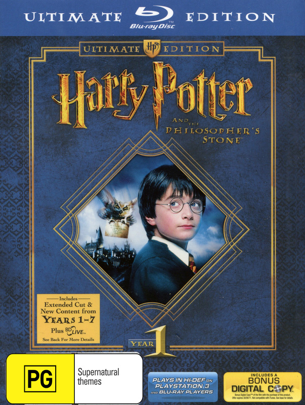 Harry Potter and the Philosopher's Stone (3 Disc Ultimate Edition)