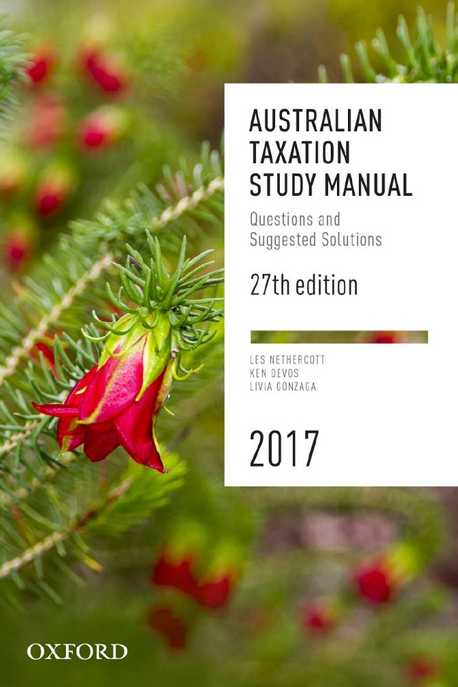 Australian Taxation Study Manual 27e 2017Questions and Suggested Solutions